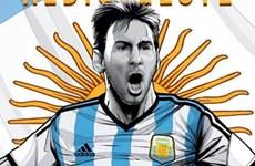[Photo] Những bức tranh cổ động thú vị cho World Cup 2014
