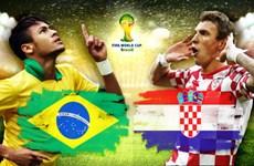 Người dân Hà Nội hồi hộp chờ đón trận mở màn Brazil - Croatia