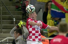 [Video] Trọng tài tước bỏ một bàn thắng mười mươi của Croatia