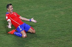 Chile thắng tưng bừng trước đại diện đầu tiên của châu Á