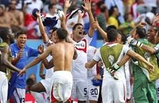 """Costa Rica viết nên câu chuyện cổ tích ở """"bảng đấu tử thần"""""""