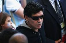 "Diego Maradona ""hầm hố"" khi tới cổ vũ đội tuyển Argentina"