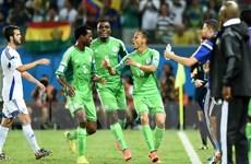 Nigeria khiến Bosnia và Herzegovina sớm chia tay World Cup