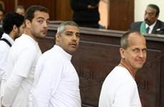 Tổng thống Ai Cập không can thiệp vào mức án của 3 nhà báo