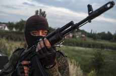 [Video] Lực lượng ly khai miền Đông Ukraine đồng ý ngừng bắn
