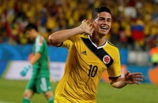 Lần đầu tiên Colombia ẵm trọn 9 điểm tại vòng bảng World Cup