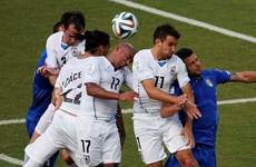 Uruguay thắng hai trận liên tục trước các đội châu Âu