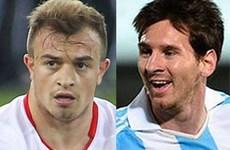 Argentina - Thụy Sĩ: Cuộc đối đầu của hai chàng... Messi!