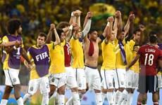 Hàng thủ giúp Brazil thoát hiểm giành vé vào bán kết gặp Đức