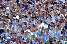 Mơ được làm cổ động viên Argentina tại World Cup 2014