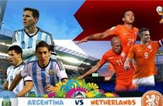 """Argentina–Hà Lan: """"Bộ não"""" của van Gaal sẽ quyết định tất cả?"""