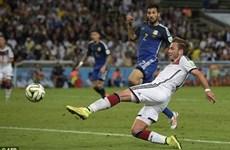 Đức-Argentina 1-0: Goetze đưa tuyển Đức lên đỉnh thế giới