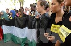 Tuần hành tại Pháp kêu gọi hòa bình ở khu vực Trung Đông