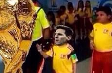 Những hình ảnh chế độc đáo về trận chung kết World Cup 2014