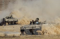 [Photo] Israel tấn công Gaza ngay sau tuyên bố ngừng bắn nhân đạo