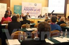 Diễn đàn ''ASEAN 47 năm: Cùng lớn mạnh'' thu hút sự quan tâm