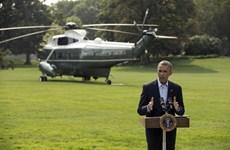 Mỹ cam kết hỗ trợ các lực lượng Iraq chống lại phiến quân Hồi giáo