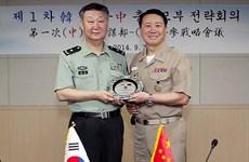 Hàn Quốc và Trung Quốc tổ chức cuộc gặp cấp Bộ Tổng tham mưu