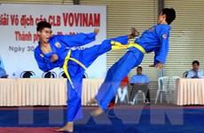 400 vận động viên dự giải vô địch các đội mạnh Vovinam toàn quốc