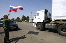 Đoàn xe nhân đạo thứ 4 của Nga tới miền Đông Nam Ukraine