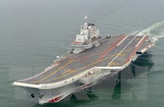 Trung Quốc bác tin về vụ nổ trên tàu sân bay Liêu Ninh