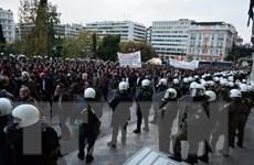 Hy Lạp: Tuần hành quy mô lớn, hơn 7.000 cảnh sát được triển khai