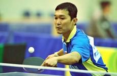 Nhiều tay vợt mạnh dự giải bóng bàn ở Đại hội thể dục thể thao
