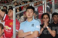 [Photo] Singapore trở thành cựu vương dù thi đấu trên sân nhà