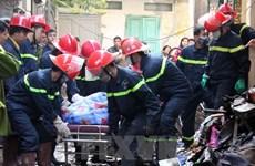 Tiếp tục xử lý các vấn đề liên quan vụ cháy làm 6 người tử vong