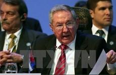 Chủ tịch Cuba Raul Castro tiếp Bộ trưởng Quốc phòng Nga