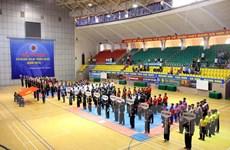 Giải vô địch Pencak Silat toàn quốc quy tụ 252 vận động viên