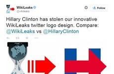 Cư dân mạng mỉa mai logo tranh cử của bà Hillary Clinton