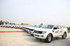 Công ty Ford Việt Nam bàn giao 75 xe Ranger XL cho Bộ Công an