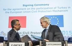 Thổ Nhĩ Kỳ tham gia các cơ chế bảo vệ dân sự Liên minh châu Âu