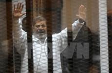 Tòa án Ai Cập kết án tử hình cựu Tổng thống Mohamed Morsi
