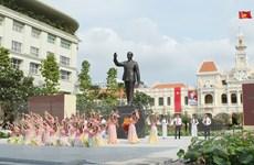 [Video] Khánh thành Tượng đài Chủ tịch Hồ Chí Minh tại TP.HCM