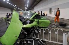 Hai quý tử ở Trung Quốc nhận án phạt nặng vì lái siêu xe gây tai nạn