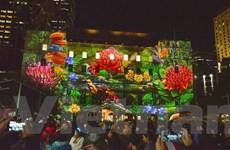 [Photo] Mãn nhãn với các tác phẩm ở Lễ hội ánh sáng Vivid Sydney