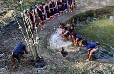[Photo] Lễ cầu mưa độc đáo của đồng bào Gia Rai ở Tây Nguyên