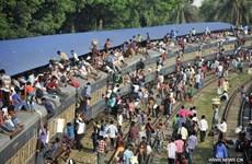 Bangladesh: Xe jeep đâm vào tàu hỏa đang chạy làm 5 người chết