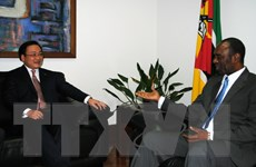 Quan hệ hữu nghị Việt Nam-Mozambique đang phát triển tốt đẹp