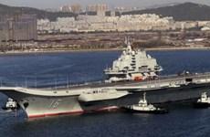 Báo Nhật phân tích việc Trung Quốc đặt căn cứ tàu sân bay ở Hải Nam
