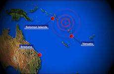 Động đất mạnh 6,9 độ Richter ngoài khơi quần đảo Solomon