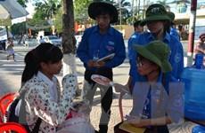 Sinh viên tình nguyện hào hứng với sự kiện tiếp sức người bệnh