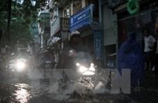 Mưa rào sẽ tiếp tục trút xuống nhiều quận nội thành ở Hà Nội