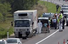 Tàu chở hàng trăm người di cư bị chặn ở biên giới nước Áo
