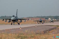 Hai chiến đấu cơ F-22 của Mỹ có chuyến thăm lịch sử tới Estonia