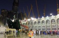 Vụ sập cần cẩu ở thánh địa Mecca đã làm hơn 100 người chết