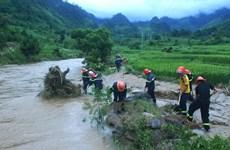 Nhiều vùng ở Thanh Hóa và Hà Tĩnh có nguy cơ xảy ra lũ quét