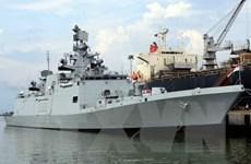Tàu khu trục tàng hình đa nhiệm của Ấn Độ thăm thành phố Đà Nẵng